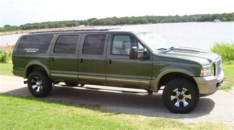custom 6 door ford excursion