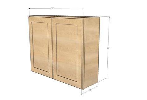 kitchen cabinet wall ana white 36 quot wall cabinet double door momplex