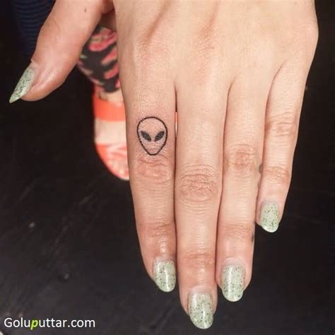 alien head tattoo tattoos and photo ideas