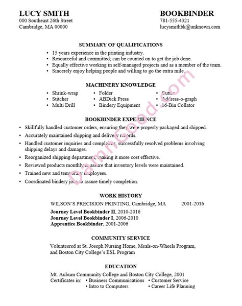 Resume Sle No College Degree No College Degree Resume Sles Archives Damn Resume Guide