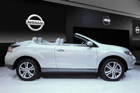 nissan crosscabriolet black nissan murano crosscabriolet price modifications