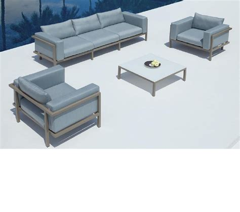 2 Chairs And Table Patio Set Dreamfurniture Marina Sofa Two Chairs And Coffee Table Patio Set