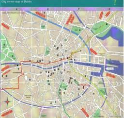 map of dublin central dublin ireland city map dublin ireland mappery