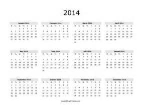 12 month calendar template 2014 2014 12 month printable calendar auto design tech