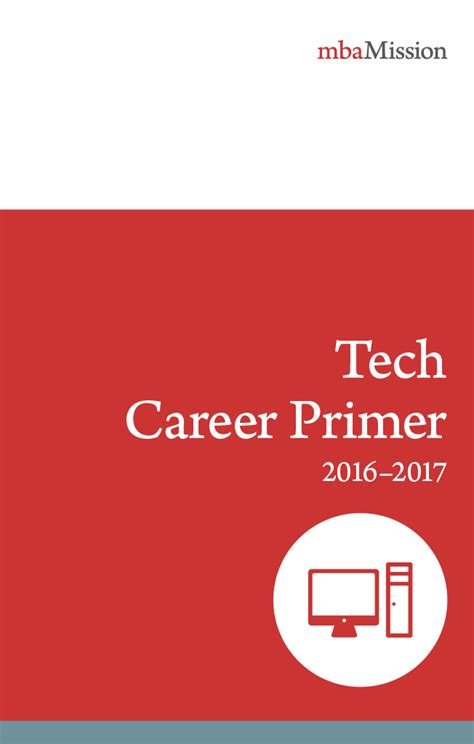 Tech Mba Career Services by Mba Application Consulting Resources