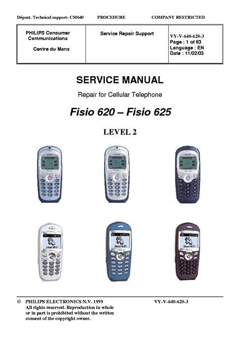 Philips Fisio 620 philips fisio 620 fisio 625 service manual