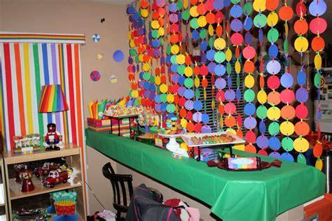 rainbow theme decorations dessert rainbow birthday ideas photo