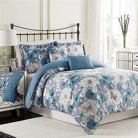 raymond waites bedding raymond waites mae comforter set in blue