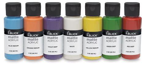matte acrylic paint on canvas 00727 0079 blick matte acrylics blick materials