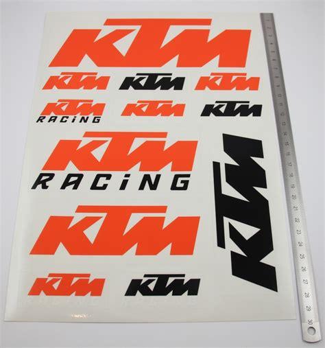 Aufkleber Set Ktm Exc by Ktm Adesivi Sticker Set Racing Duke Exc Supermoto