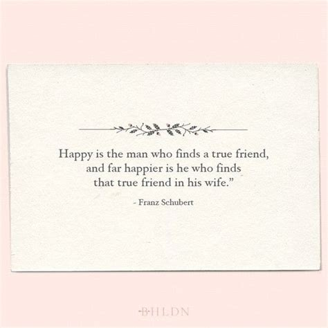 Wedding Quotes On Friendship by A Quote On The Importance Of Friendship In Marriage By
