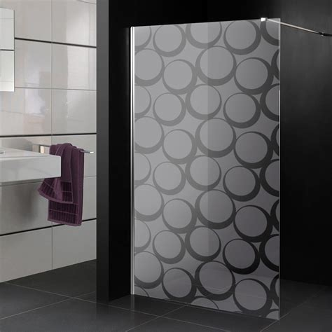 adesivi per doccia adesivi follia adesivo sabbiato per box doccia cerchio