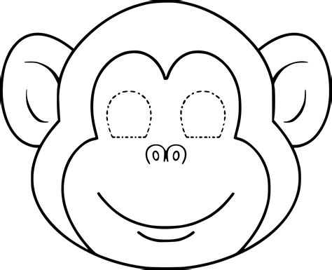 Coloriage Masque Singe 224 Imprimer Sur Coloriages Info Coloriage De Descendants A Imprimer L