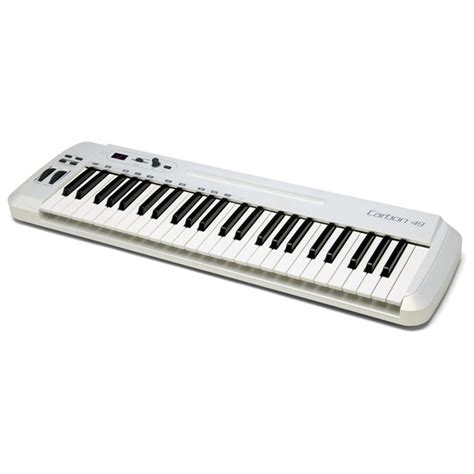Keyboard Midi samson carbon 49 usb midi keyboard controller at gear4music