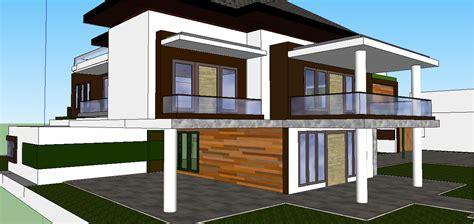 membuat rumah green house desain rumah minimalis pembangunan teknik sipil green