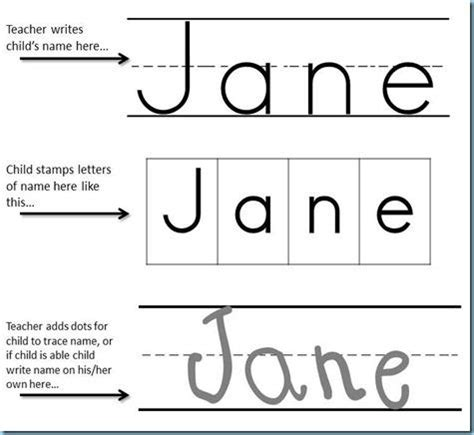 Writing Name Template by Printing Practice Name Sting