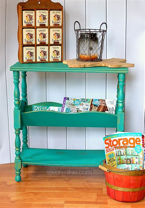 Hometalk   Update a Vintage Magazine Rack