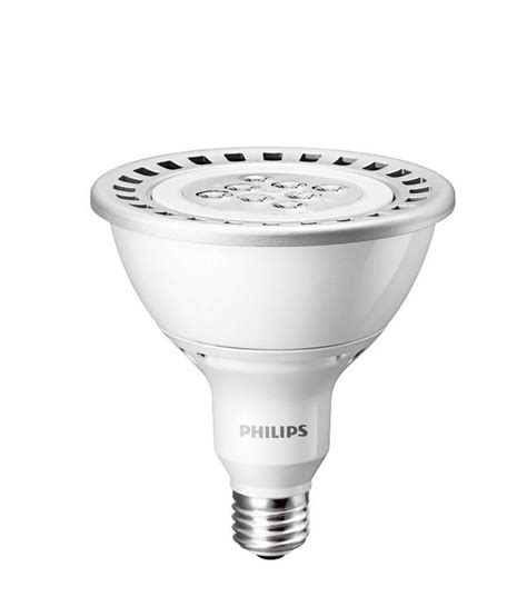 Philips Bright White Par38 Dimmable Led Floodlight Bulb Ebay Led Dimmable Flood Light Bulbs