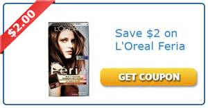 loreal hair color coupons 2 any loreal feria hair color coupons expires 11