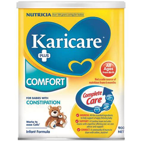 comforts baby formula karicare comfort infant formula all ages from birth 900g