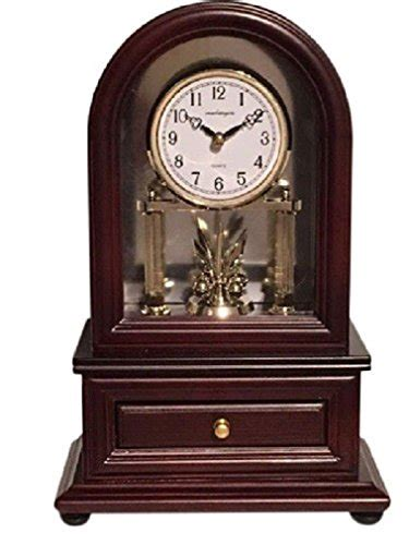 desk clocks vmarketingsite wood desk clock with revolving