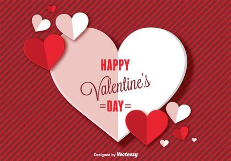 happy valentines day background   vector art
