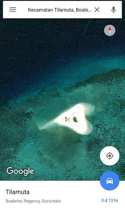 membuat akun google earth pulo cinta berbentuk hati di indonesia good news from