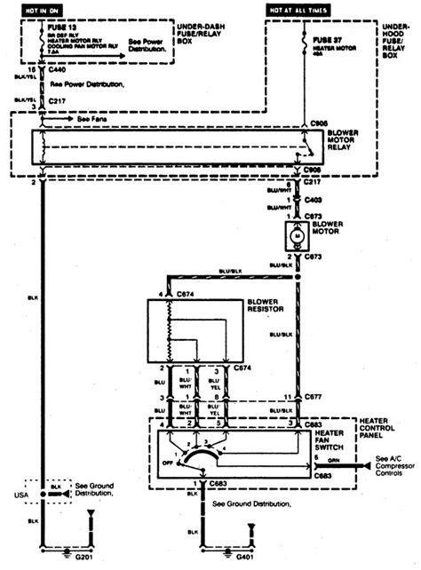 acura integra wiring diagram acura integra 1996 wiring diagrams hvac