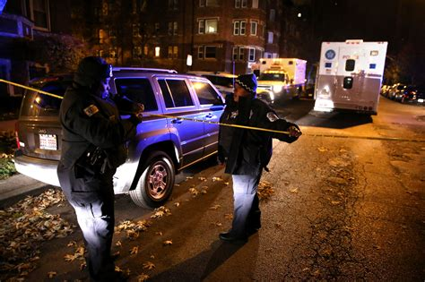duty chicago cop wounded with a tough cookie