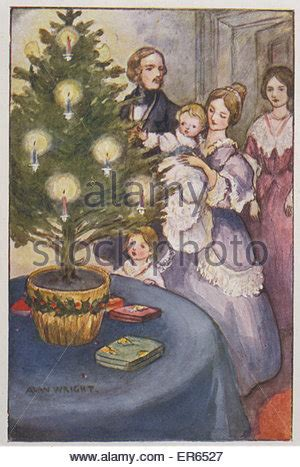 prince albert and the christmas tree prince albert family day out osborne stock photo 37596081 alamy