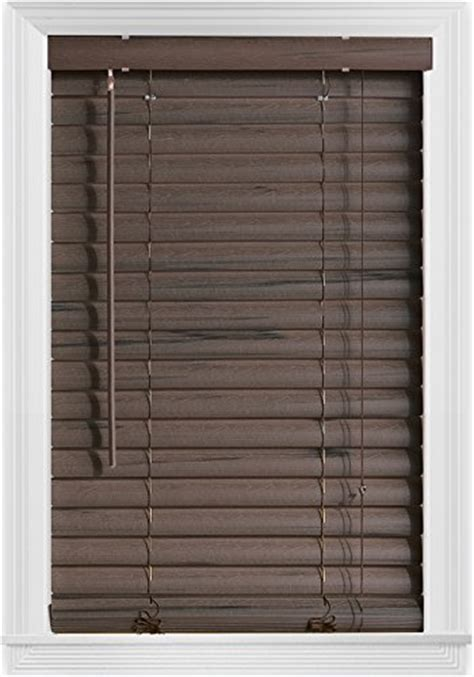 L Shades Malaysia by Authentic Bali Blinds 2 Quot Vinyl Corded 23x64 Quot Coffee