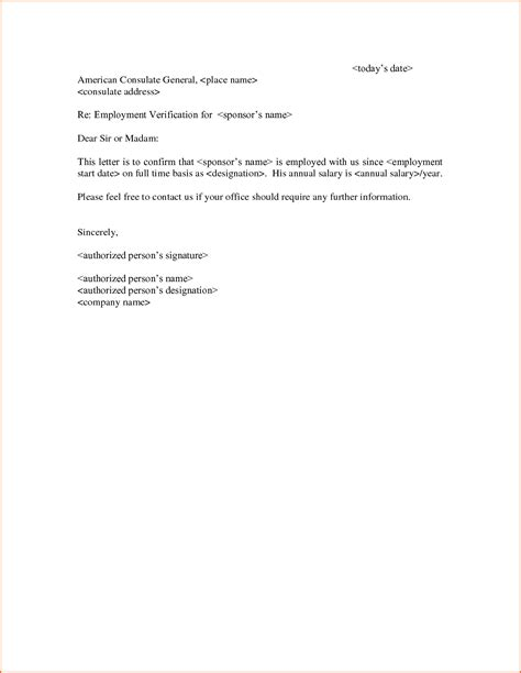 Confirmation Letter Of Employment Template 7 employment verification letter template budget