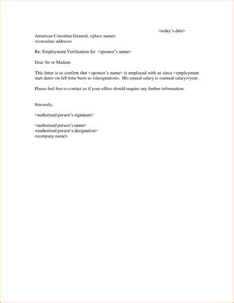 Proof Of Employment Letter Uscis 7 Employment Verification Letter Template Budget Template Letter