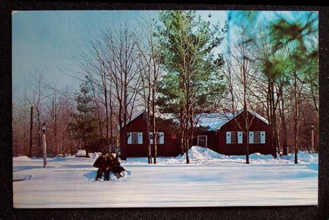 Pennsylvania Honeymoon Cabins by 1960s Honeymoon Cabin Memorytown Mount Pocono Pa Pc Ebay