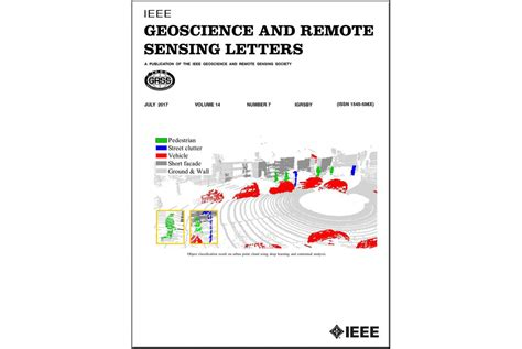 Geoscience Research Letter Cover Page Article In The Ieee Geoscience And Remote Sensing Letters Sztaki