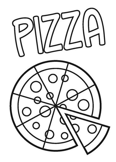 pizza coloring page pizza colouring pages imagui