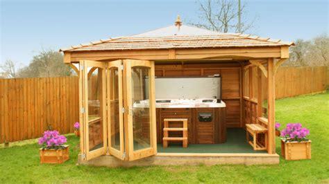 hot tub swim spa gazebos  hideout house company