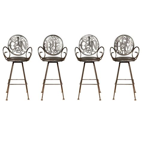 swinging bar stools swinging 60 s bar stools at 1stdibs