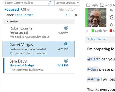 Office 365 Outlook Focused Inbox Microsoft K 252 Ndigt Office Neuerungen An Focused Inbox