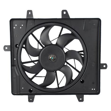 pt cruiser radiator fan brock supply 01 05 cr pt cruiser radiator fan assy w o turbo
