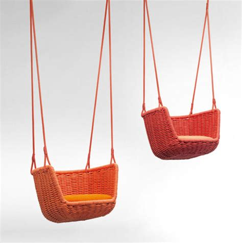 designer swings adagio outdoor swing by francesco rota design milk