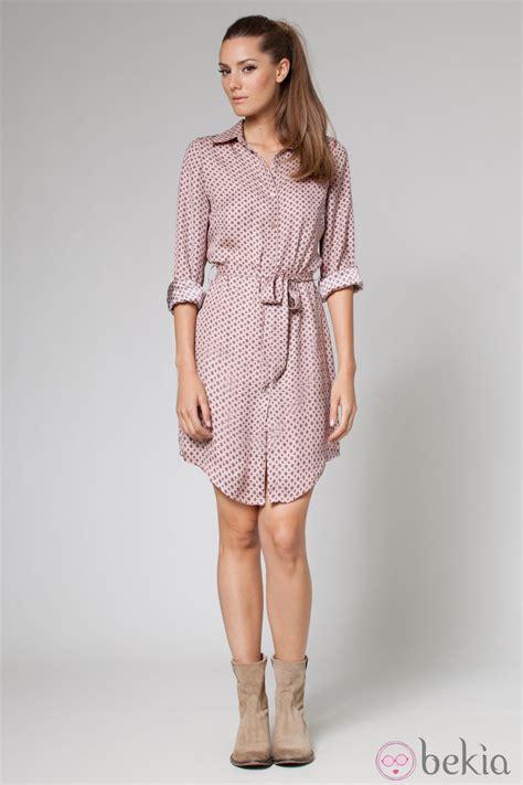 imagenes de vestidos otoño invierno vestido tipo camisa de la colecci 243 n oto 241 o invierno 2013 de