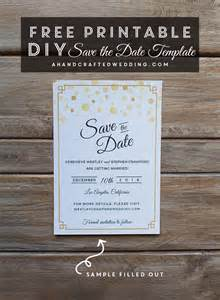 Save The Date Free Templates Printable by Free Save The Date Printable Craftbnb