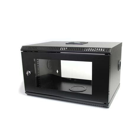 wall mount server cabinet startech 6u 19 inch wallmount server rack cabinet with