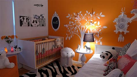 orange rugs for nursery how to the right colors for a modern nursery design ideas tips
