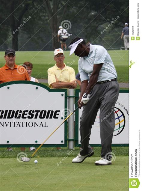 vj singh golf swing pro golfer vijay singh editorial stock image image of
