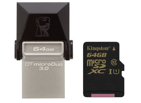 Usb Otg Kingston Dt Microduo 3 0 kingston announces datatraveler microduo 3 0 otg flash