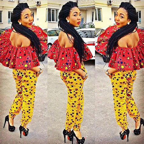 different ankara styles ankara fashion the two color prints look book madivas