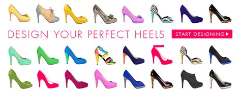 create your own high heels design your own heels shoes of prey