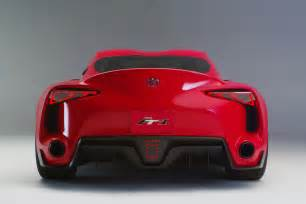 Toyota Ft1 Toyota Ft 1 Sports Car Concept Revealed Modified